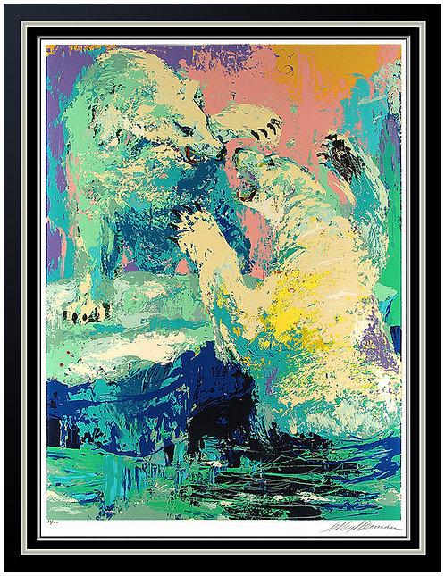 """""""Polar Bears"""" by Leroy Neiman"""