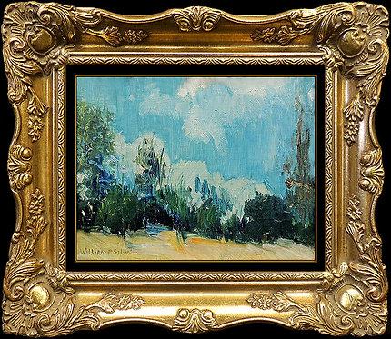 """Original Skies of Blue"" by William Posey Silva"