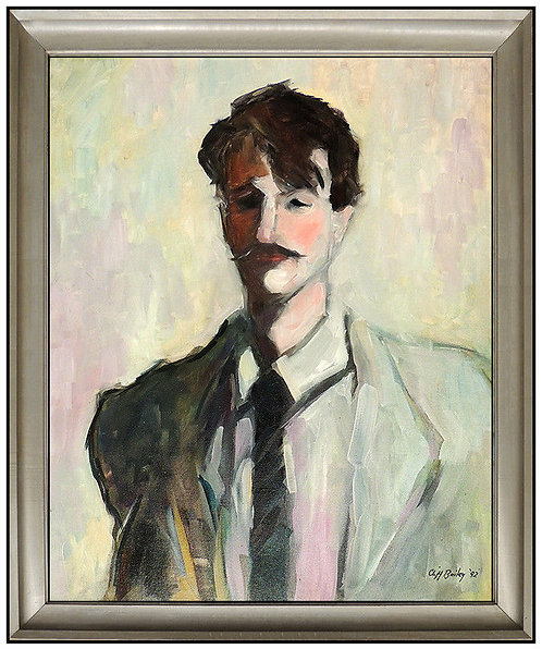 """""""Original Man in Pale Blue"""" by Clifford Bailey"""