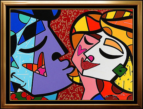 """Honey"" by Romero Britto"