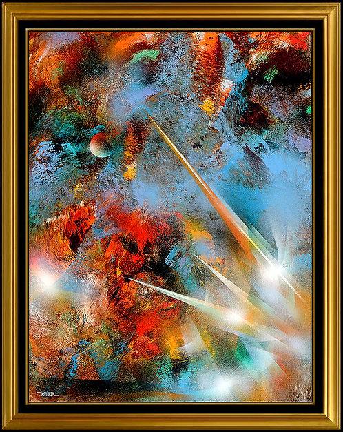 """""""Original Lunar Influence"""" by Leonardo Nierman"""