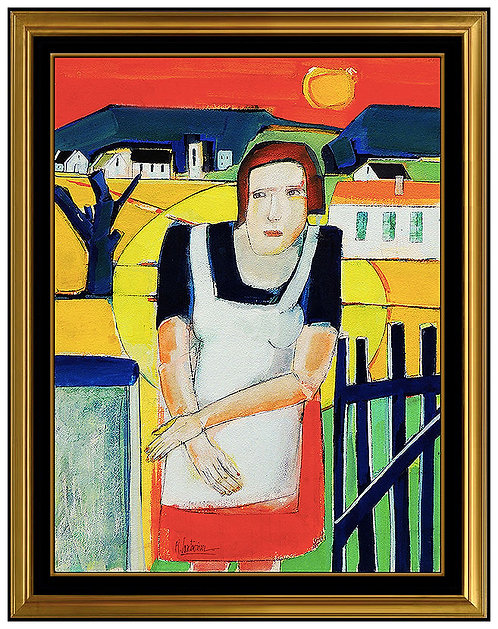 """Original Bonjour Madame Jaugin"" by Rene Couturier"