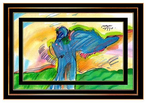 """ORIGINAL POP ART PROFILE"" by Peter Max"