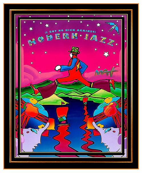 """Original Modern Jazz"" by Peter Max"