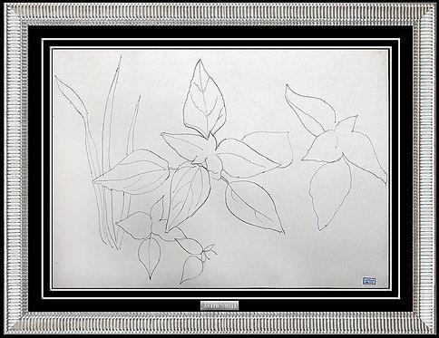 """Fresh Blossoms"" by Joseph Stella"