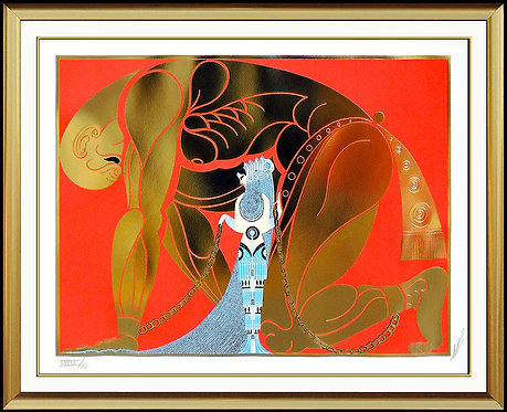 """Samson and Delilah"" by Erte"