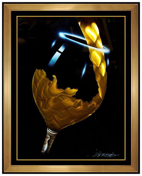 """""""Original White Wine Pour"""" by Chris DeRubeis"""