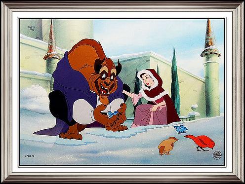 """""""Heartwarming - Beauty and the Beast, Setup Cel"""""""