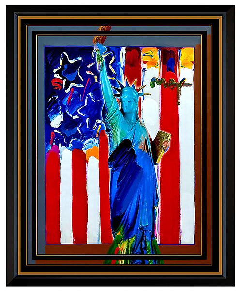 """""""United We Stand II"""" by Peter Max"""