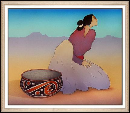 """""""Tonto Woman"""" by R.C Gorman"""