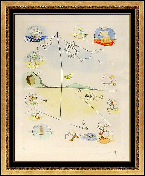 """Frontispiece"" by Salvador Dali"