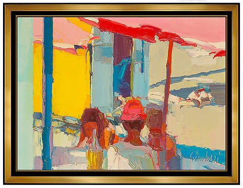 """Lunch on the Beach"" by Nicola Simbari"
