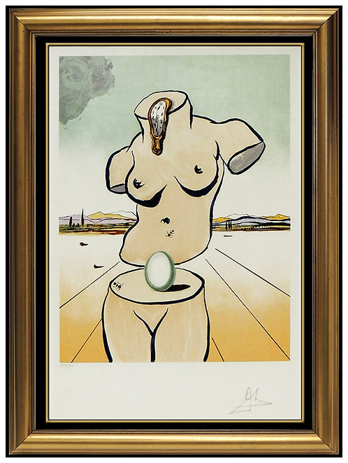 """Birth of Venus - Torso"" by Salvador Dali"