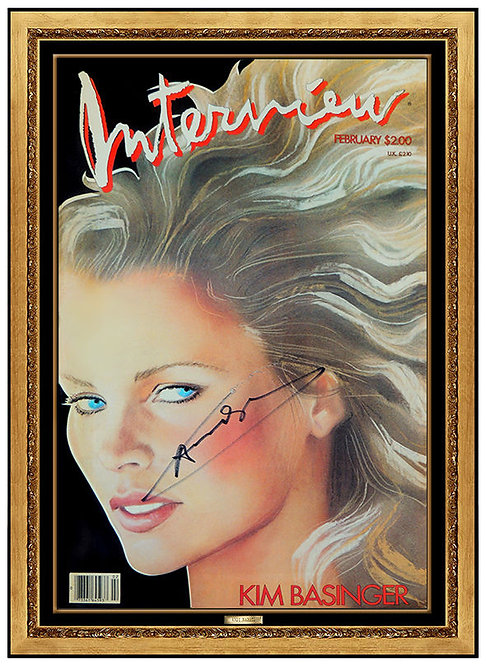 """""""Kim Bassinger"""" by Andy Warhol"""
