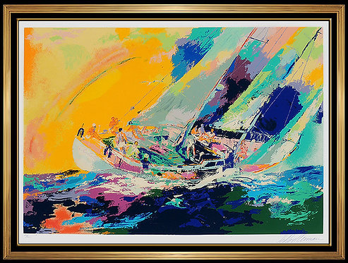 """Hawaiian Sailing"" by Leroy Neiman"
