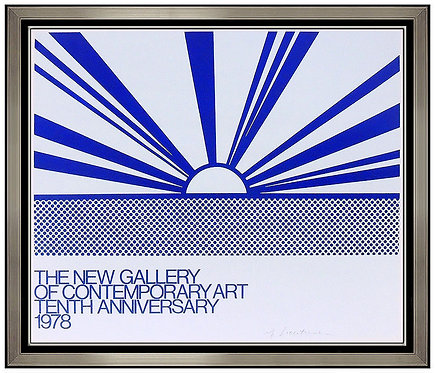 """The New Gallery of Contemporary Art"" by Roy Lichtenstein"