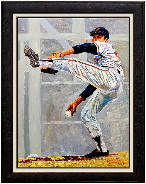 """Hall-Of-Famer Juan Marichal"" by Dick Perez"