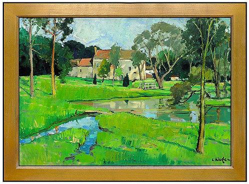 """""""Original Maison Au Bord Du Lac"""" by Constantin Kluge"""