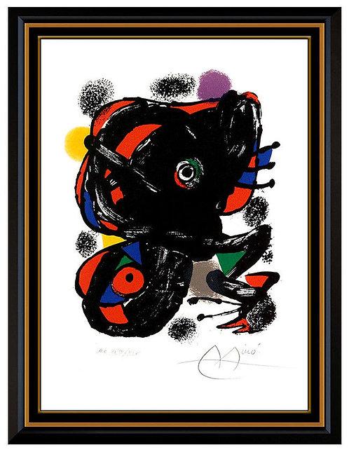 """XXe Siecle No. 46 (m. 1106)"" by Joan Miro"