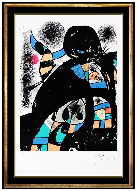 """San Lazzaro et Ses Amis"" by Joan Miro"