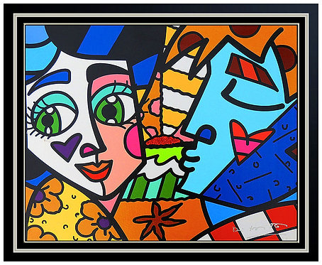 """Please Sweetheart"" by Romero Britto"