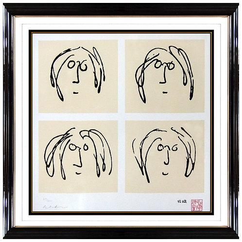 """Mind Games - Self Portrait"" by John Lennon"