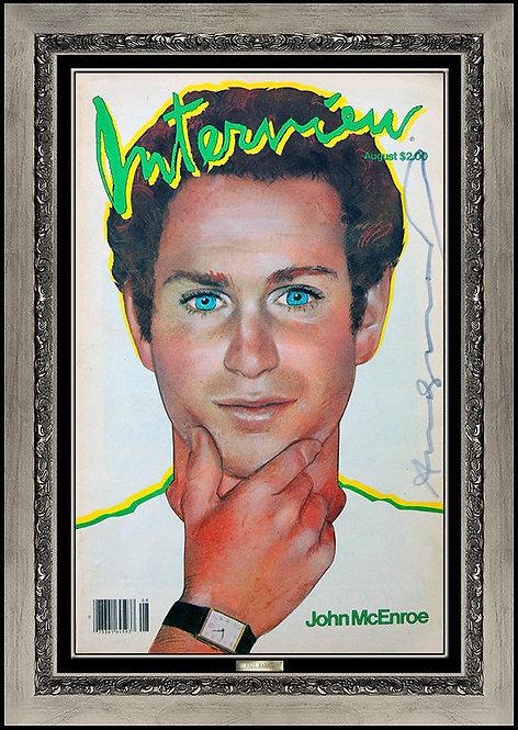 """John McEnore"" by Andy Warhol"