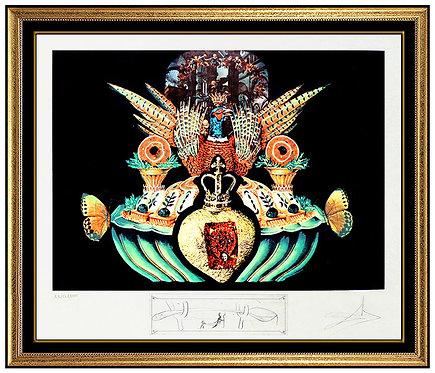 """""""Les Chairs Monarchiques"""" by Salvador Dali"""