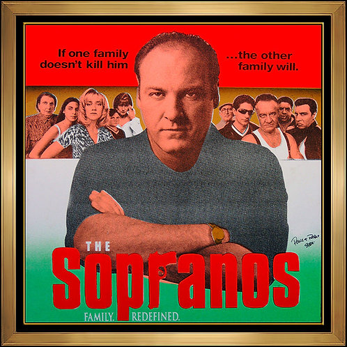 """The Sopranos"" by Steve Kaufman"