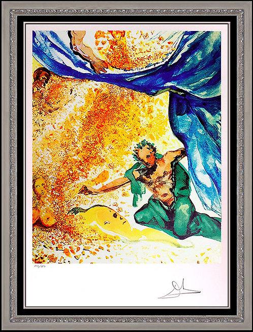 """""""The Garden of Eden"""" by Salvador Dali"""