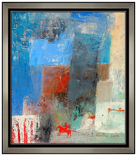 "'Original Lone Rider"" by Howard Cook"