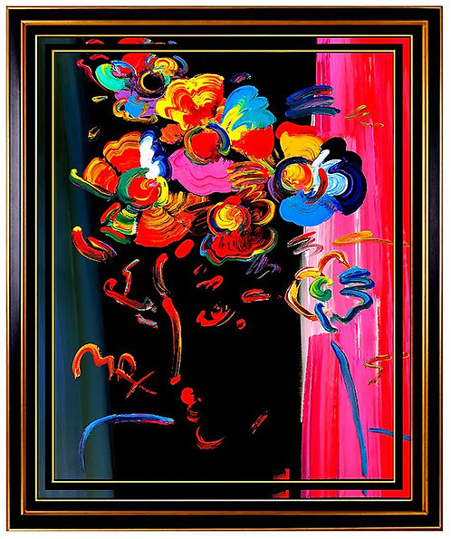 """Roseville Profile"" by Peter Max"
