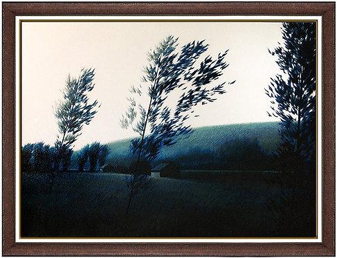 """""""Original Blue Field"""" by Robert Kipniss"""