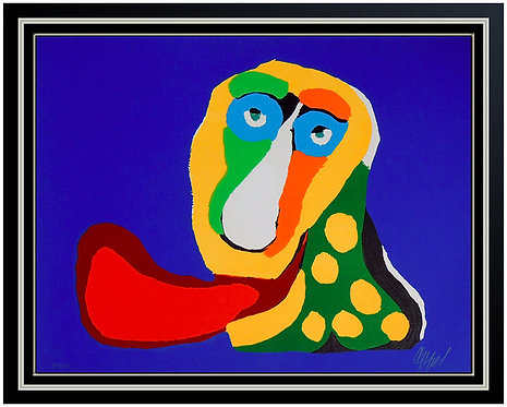 """Abstract Snake"" by Karel Appel"
