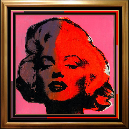 """Marilyn's Famous Red Lips"" by Steve Kaufman"