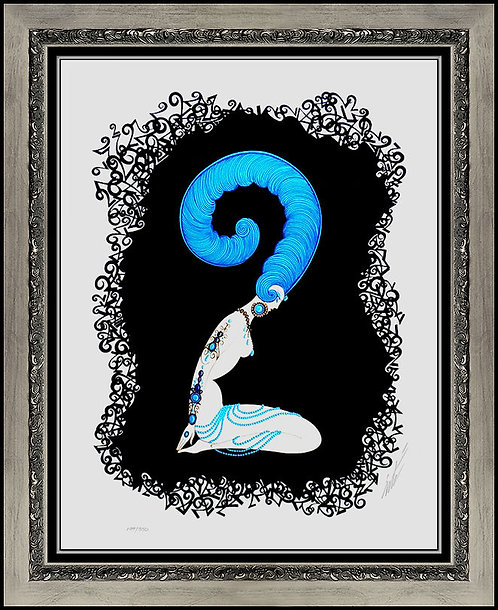 """Numeral 2"" by Erte"