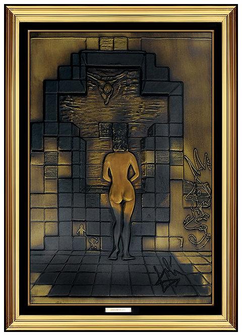 """""""Lincoln In Dalivision"""" by Salvador Dali"""