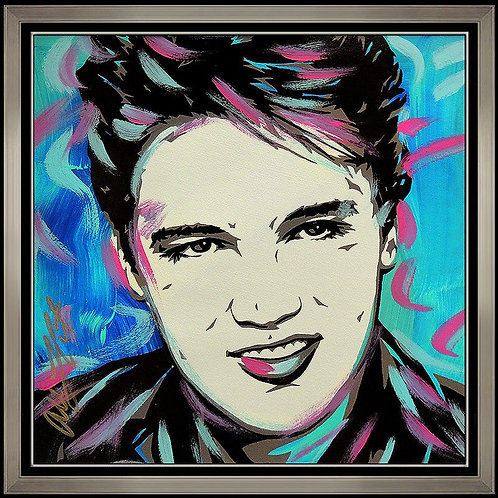"""Elvis Presley Original"" by Allison Lefcort"