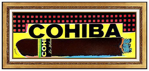 """""""Cohbia Ciga"""" by Steve Kaufman"""