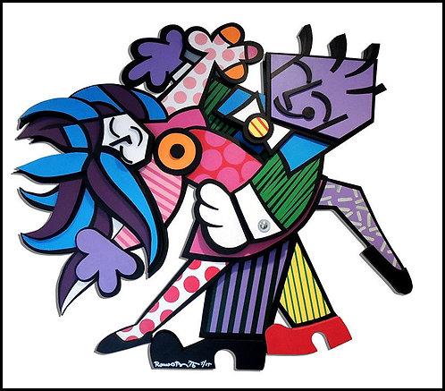 """""""The Dancers"""" by Romero Britto"""