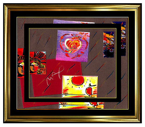 """Original Iconic Works"" by Peter Max"