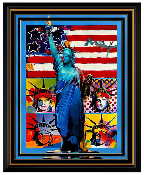 """Full Liberty with Liberty Heads"" by Peter Max"