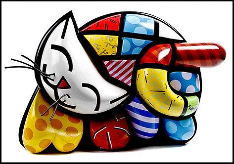 """""""Brendan's Cat"""" by Romero Britto"""