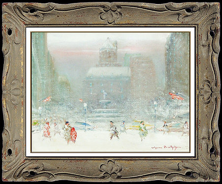 """Pulitzer Fountain Original"" by Johann Berthelsen"