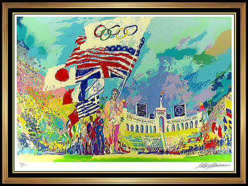 """Opening Ceremonies"" by Leroy Neiman"
