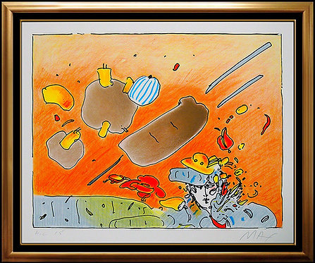 """""""Daydreaming"""" by Peter Max"""