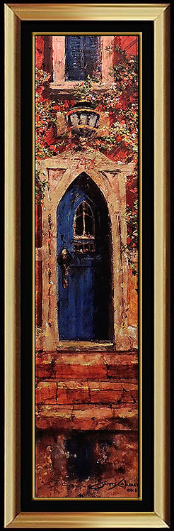 """Blue Door"" by James Coleman"