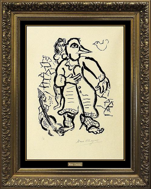 """""""Planche 10 (Gravure XX)"""" by Marc Chagall"""