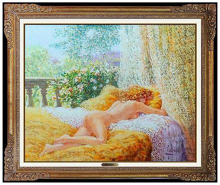 """Original La Chambre Doree"" by Louis Fabien"