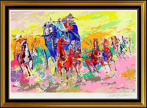 """Homage to Remington"" by Leroy Neiman"